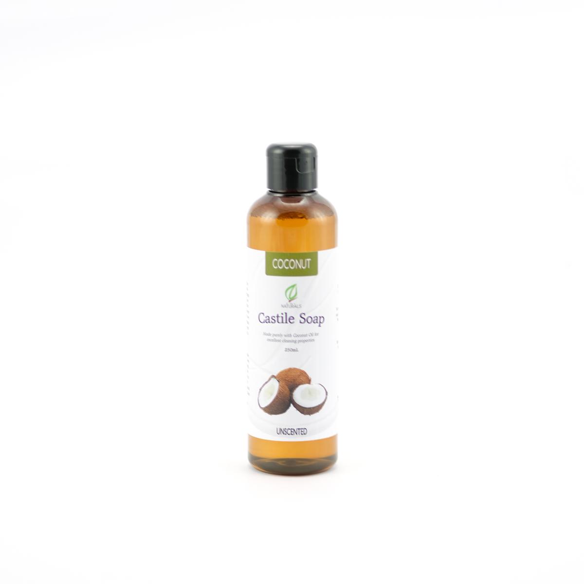 Unscented Coconut Castile Soap Refill