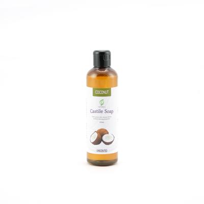 Unscented Coconut Castile Soap
