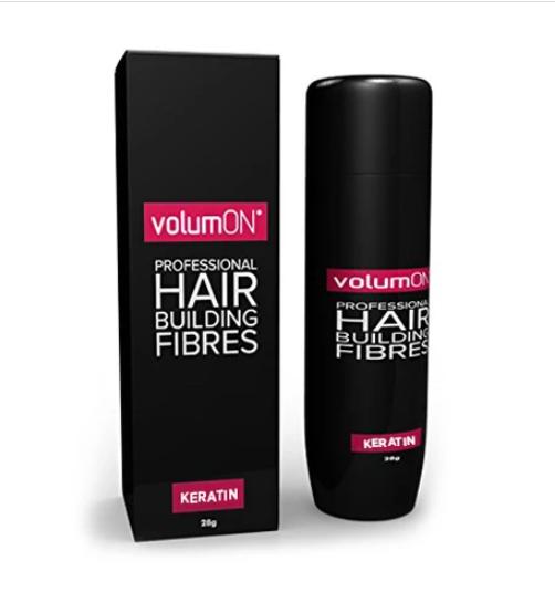Volumon Keratin Hair Fibres Grey