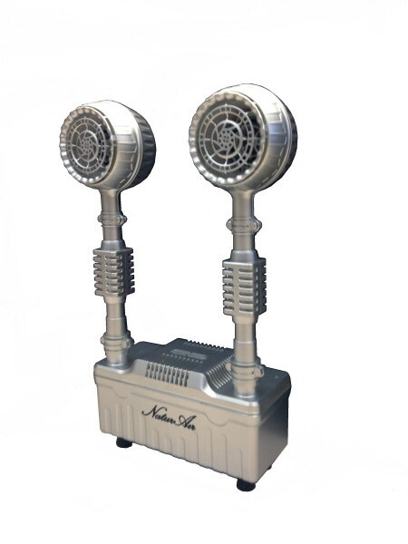 Negative Ion Generator - Naturair Twin Air Pro Ionizer