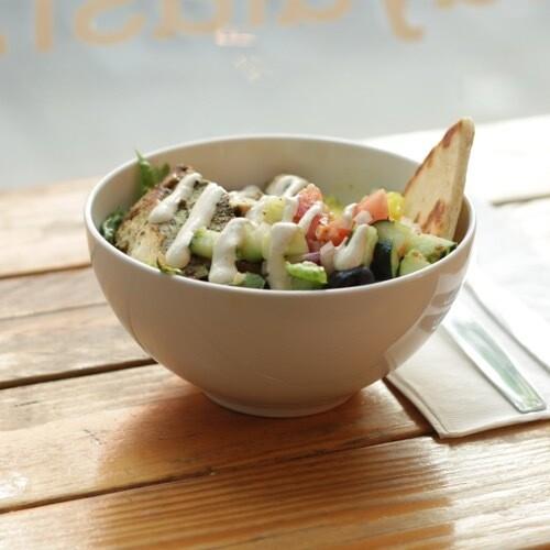 Mosique (Chicken + Falafel) Bowl