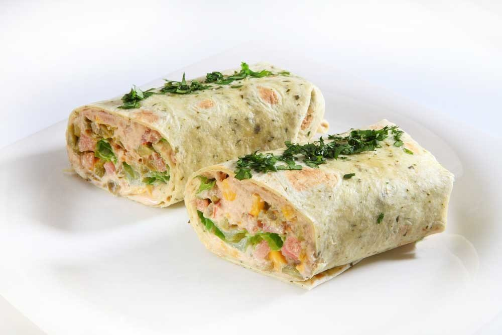 Tuna Melt Wrap