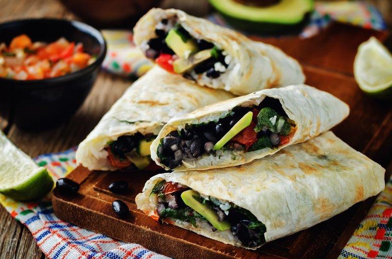 Assorted Burrito Platter