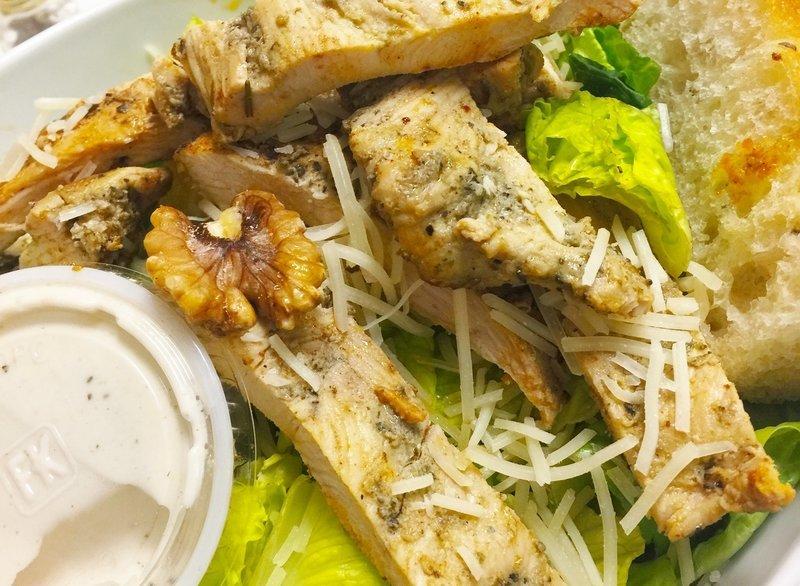 Grilled Chicken Caesar