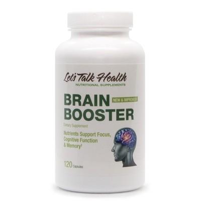 Brain Boster , 120vc -  Let'sTalkHealth