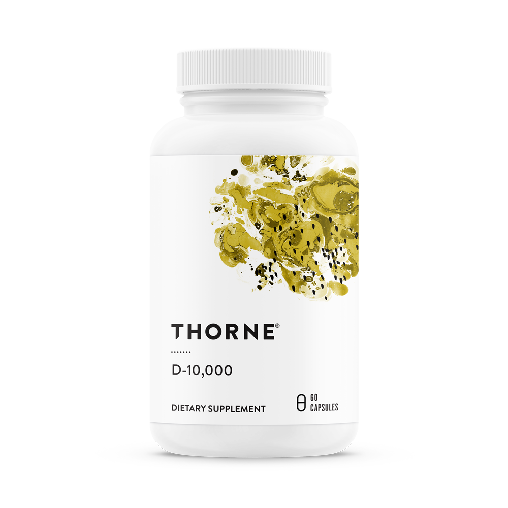 Vitamin D3 10,000iu 60vc - Thorne Research