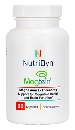Magtein : Magnesium L-Threonate : 90 capsules - Nutridyn