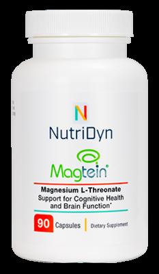 Magtein : Magnesium L-Threonate : 90 capsules - Nutridyn