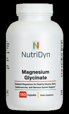 Magnesium Glycinate 160c - Nutridyn