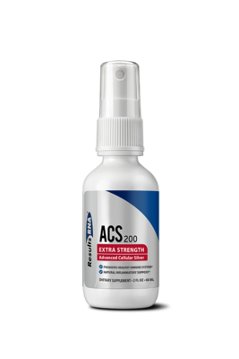 ACS200 Extra Strength - Researched Collodical Silver Spray 2oz - Results RNA