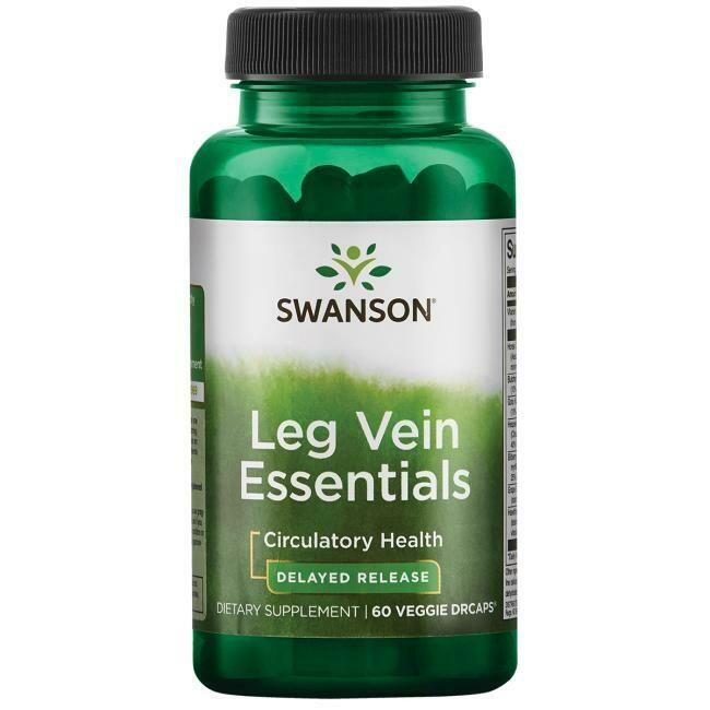 פורמולה תומכת לורידי הרגליים (בשחרור מושהה) - Leg Vein Essentials  60 כמוסות