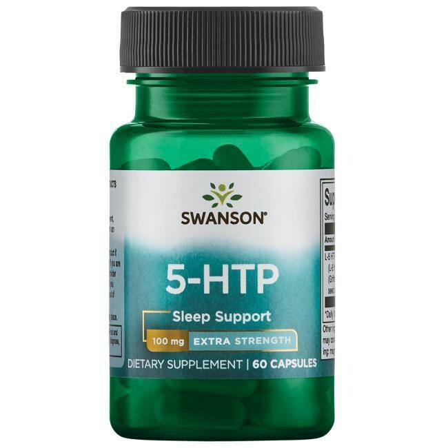 5HTP Extra Strength 100mg 60c - Swanson