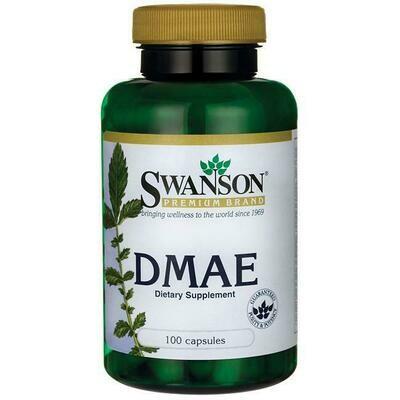 DMAE Complex 130mg 100c - Swanson