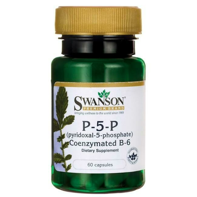 P-5-P Pyridoxal-5-Phosphate 40mg 60c