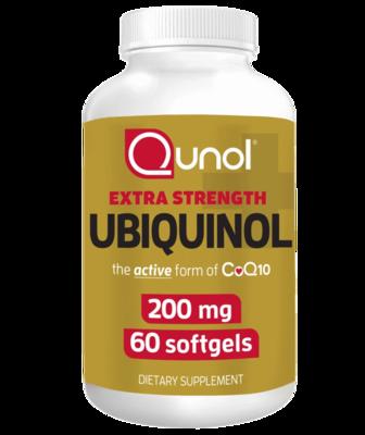 Ubiquinol 200 mg 60c - Qunol
