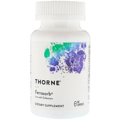 Ferrasorb 60vc - Thorne Research