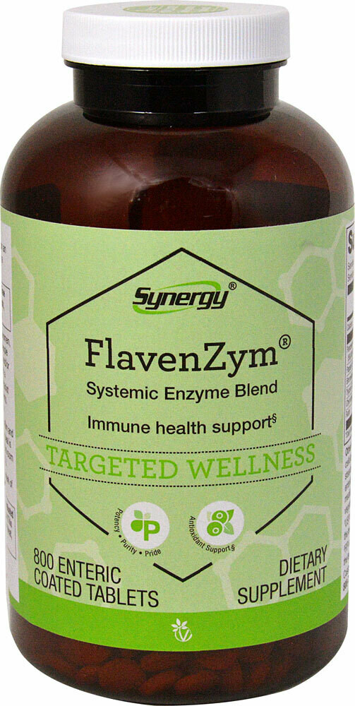 Flavenzym 800 tablets - Vitacost Synergy