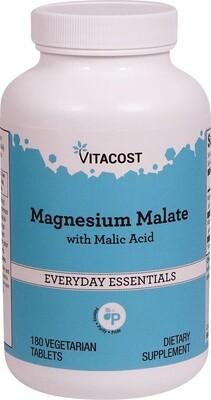 Magnesium Malate 180 vc - Vitacost