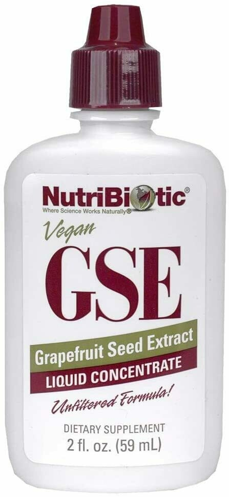 (GSE, Grapefruit Seed Extract, Liquid Concentrate, 2 fl oz (59 ml