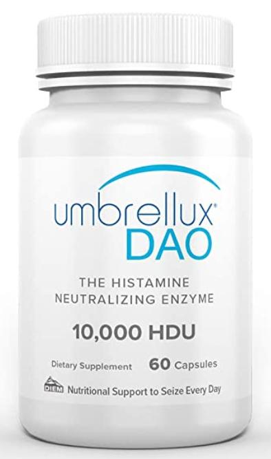 DAO Histamine Neutralizing Enzyme 10,000 HDU 60c
