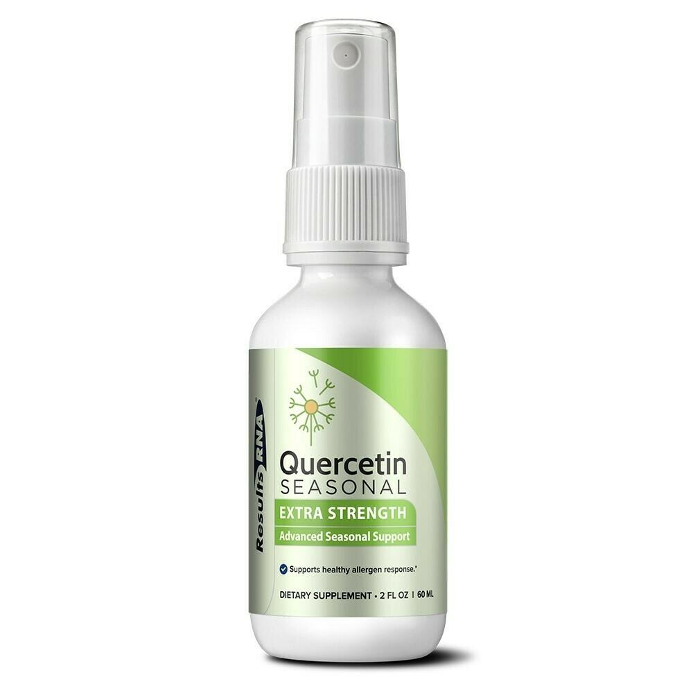 QUERCETIN SEASONAL EXTRA STRENGTH 60ml results RNA