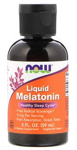 Liquid Melatonin 59 ml - טיפות מלטונין