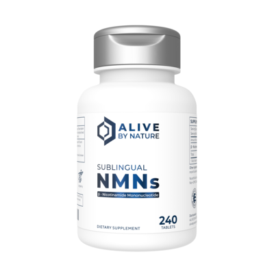 NMN – 240 ct Sublingual Tablets - AliveByNature