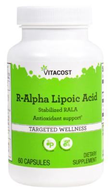 R-Alpha Lipoic Acid 80 mg 60c - Vitacost