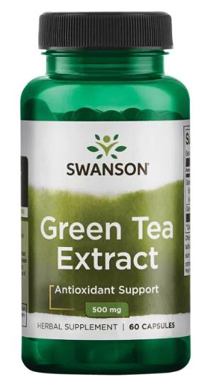 """תמצית תה ירוק 500 מ""""ג 60 קפסולות"""