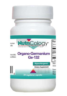 Organic Germanium 200 mg 50c - NutriCology