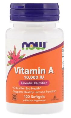Vitamin A 10,000 IU 100sg