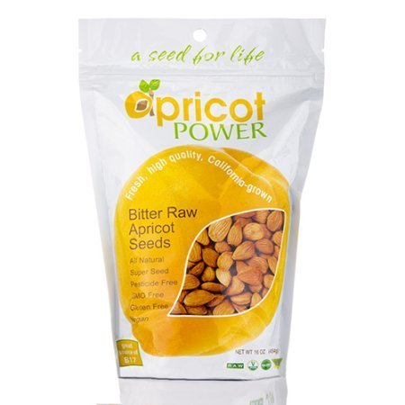 Bitter Apricot Seeds ,16oz - ApricotPower