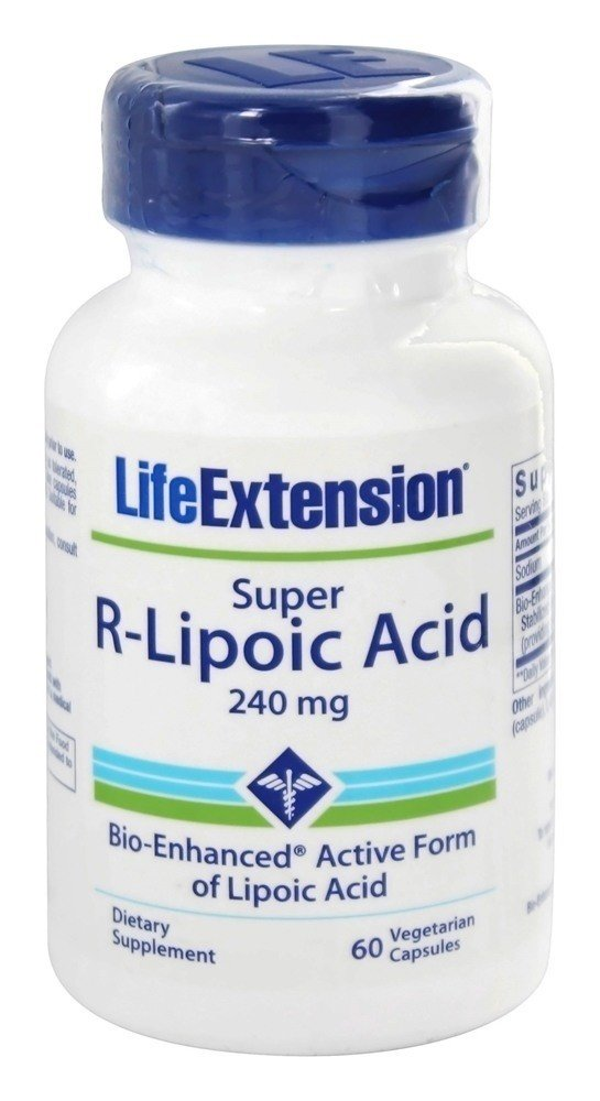 R-Lipoic Acid, 240 mg, 60vc - Life Extension