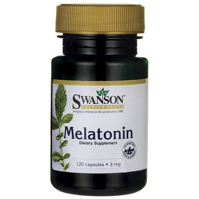 Melatonin 3mg , 120c - Swanson Vitamins