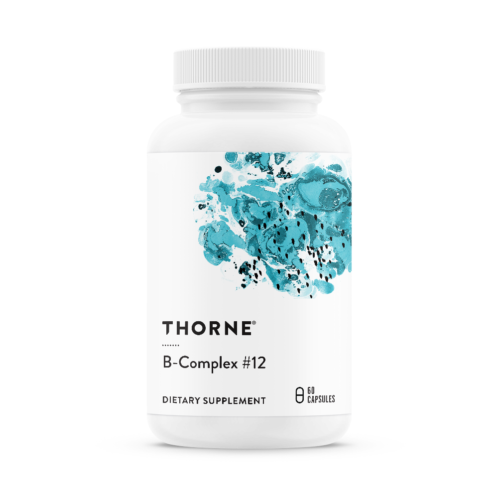 B Complex #12 60 tabs - Thorne Research
