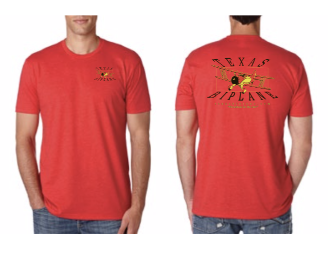 On Sale! Crew Neck Red, reg $20 T-CR