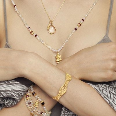 Lakshmi Mala • Gold Vermeil