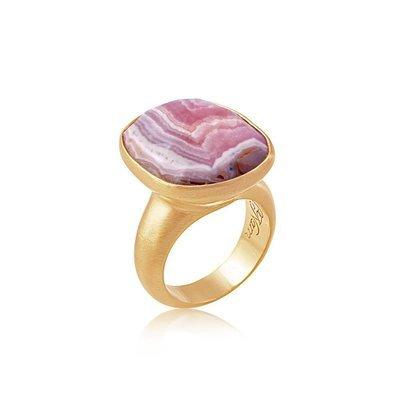 Sat Nam Ring • Gold Vermeil