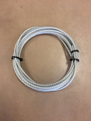 4' Wide Wheel End Cable