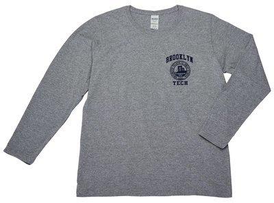 Women's Long Sleeve T-shirt - Navy Imprint