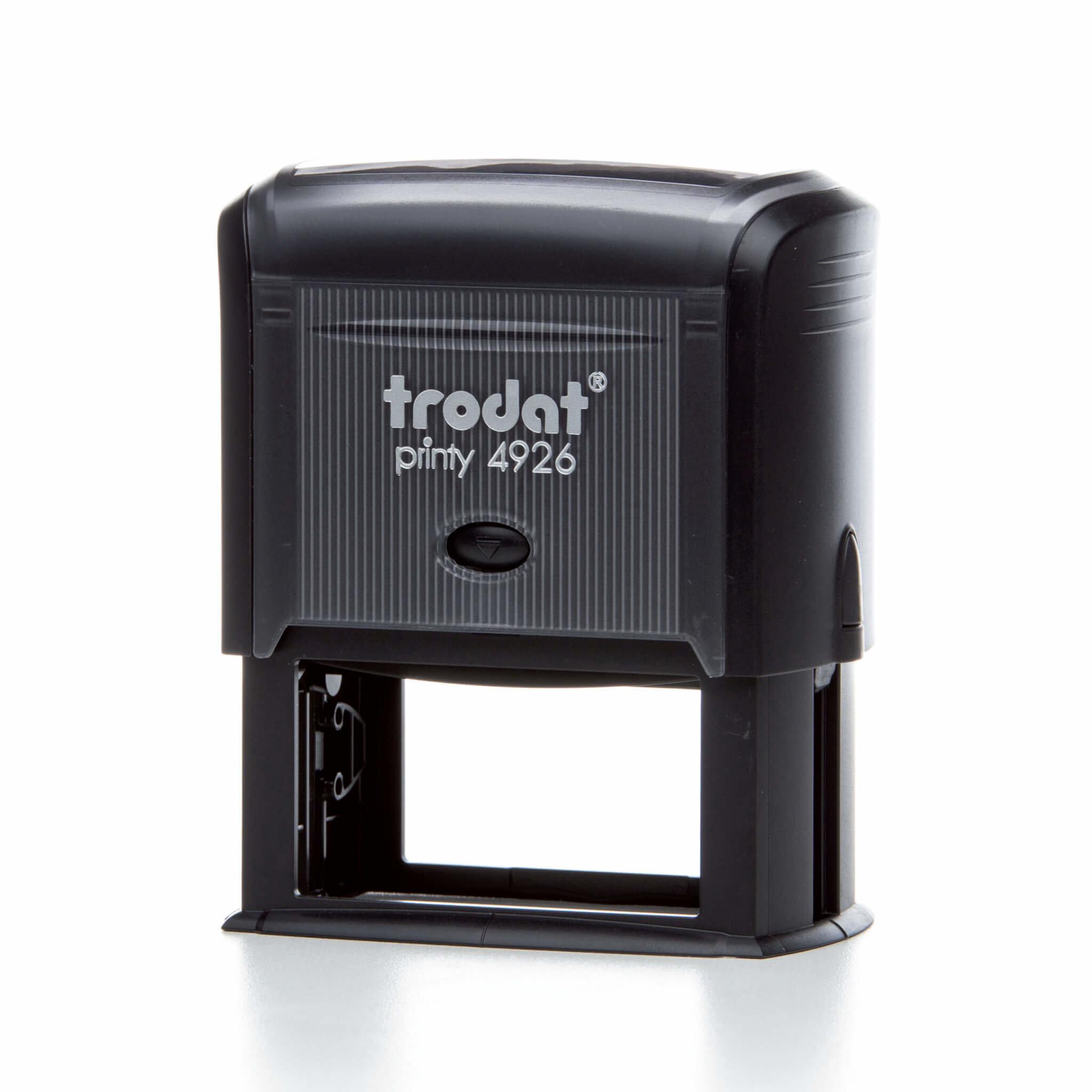 TRODAT 4926 - TESTO 8 RIGHE - MM 75x38 TRO4926