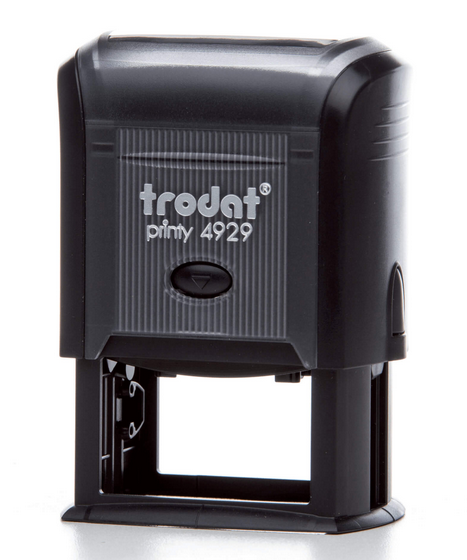 TRODAT 4929 - TESTO 6 RIGHE - MM 50x30 TRO4929