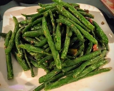 SJKT【双椒 KATY】干煸四季豆 Dry-Fried Green Beans