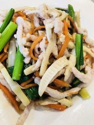 JNC【江南村】笋尖肉丝 Shredded Pork w/ Bamboo Shoot (Closed Tuesday)