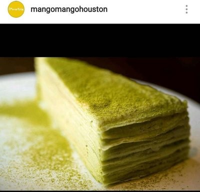 MM【MangoMango】绿茶千层