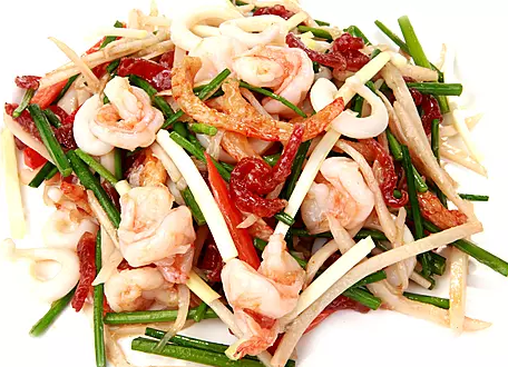 DHHX【东海海鲜】东海小炒皇 Sauteed Chinese Leek with Shrimp