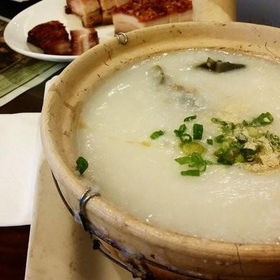 XGSJ【香港食街】皮蛋瘦肉粥 Congee w/ Pork & Preserved Egg