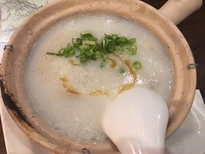 XGSJ【香港食街】及第粥 Congee w/ Pig Giblet