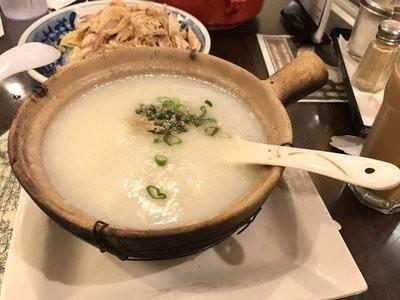 XGSJ【香港食街】鱼片虾球粥 Congee w/  Fish & Shrimps