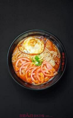 ZWXM【滋味小面】华兴煎蛋面 Huaxing Fried Egg Noodles (with soup & no spicy)(Closed Tuesday)